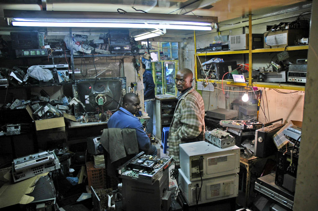 Soweto: repair shop