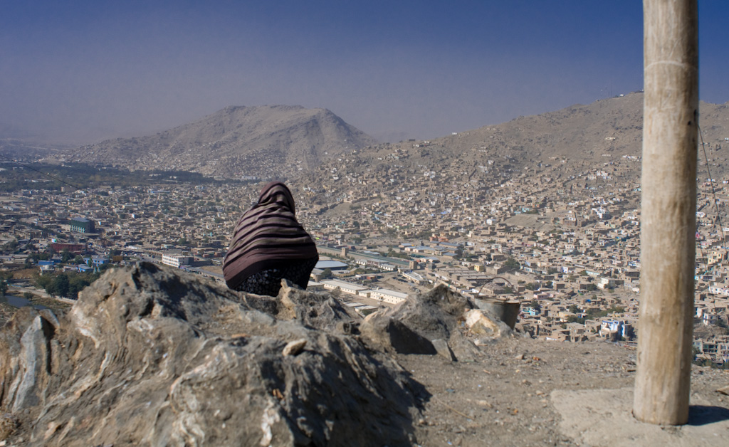 Kabul: view over the city