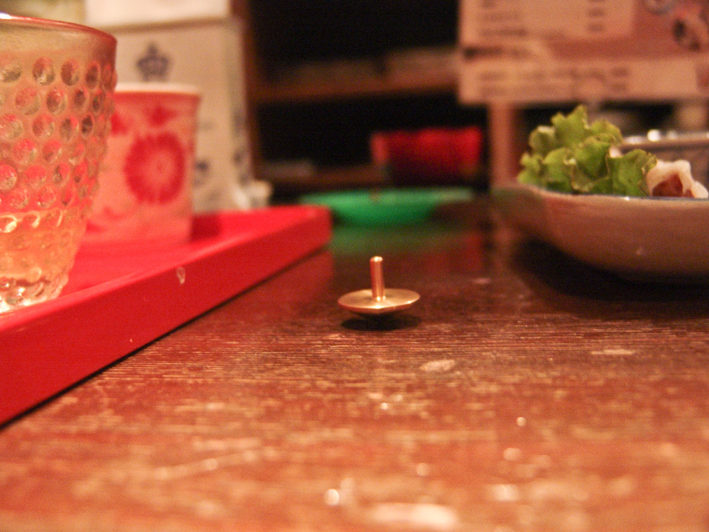 Tokyo: the magic of a spinning top
