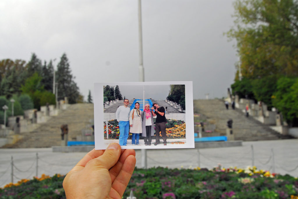 Tehran: photo from the park photographer's mobile kit