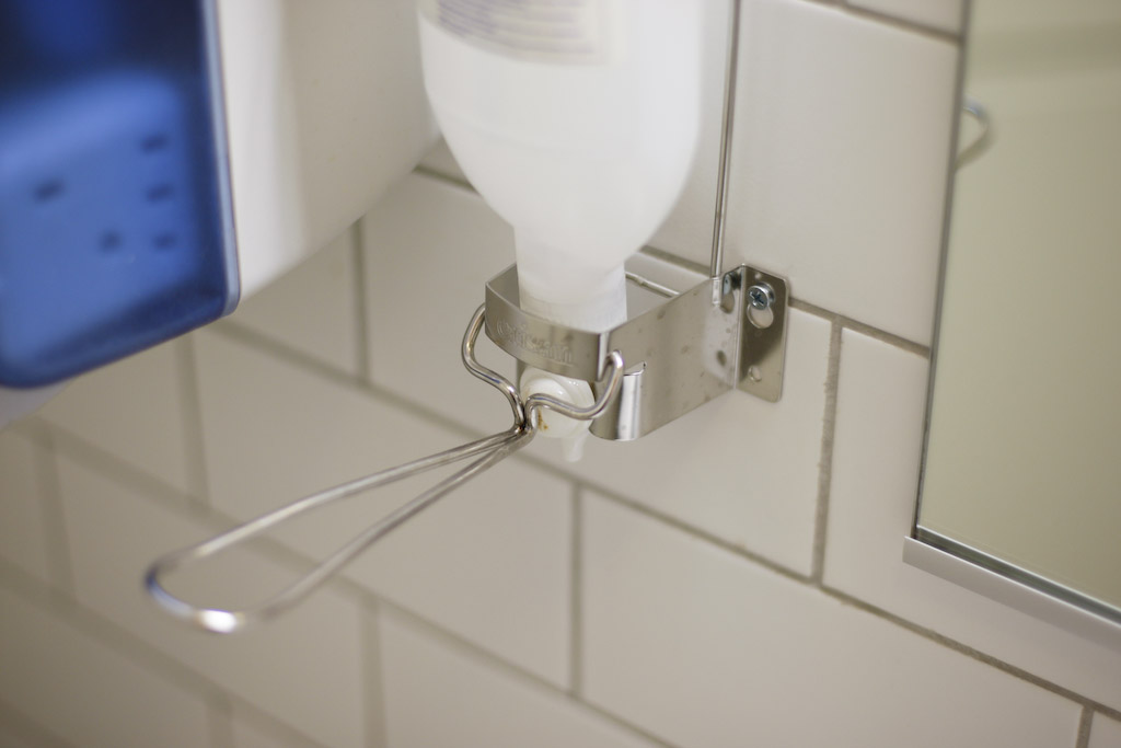 Turku: hands free soap dispenser