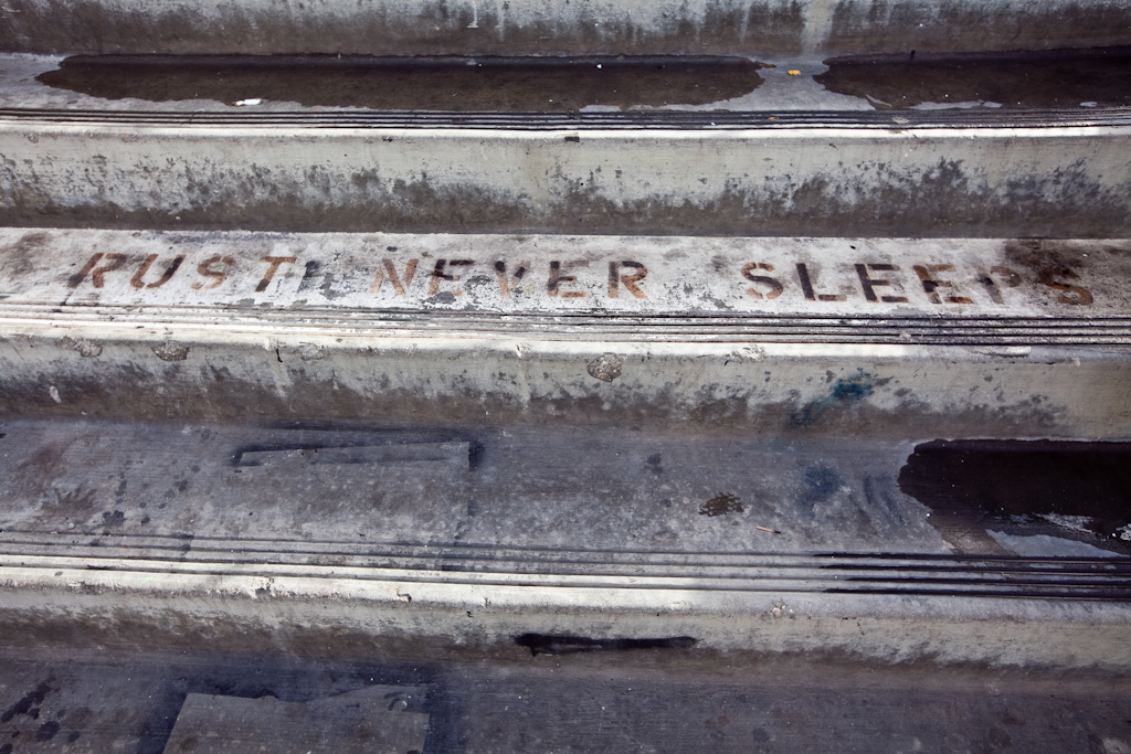 Los Angeles: rust never sleeps