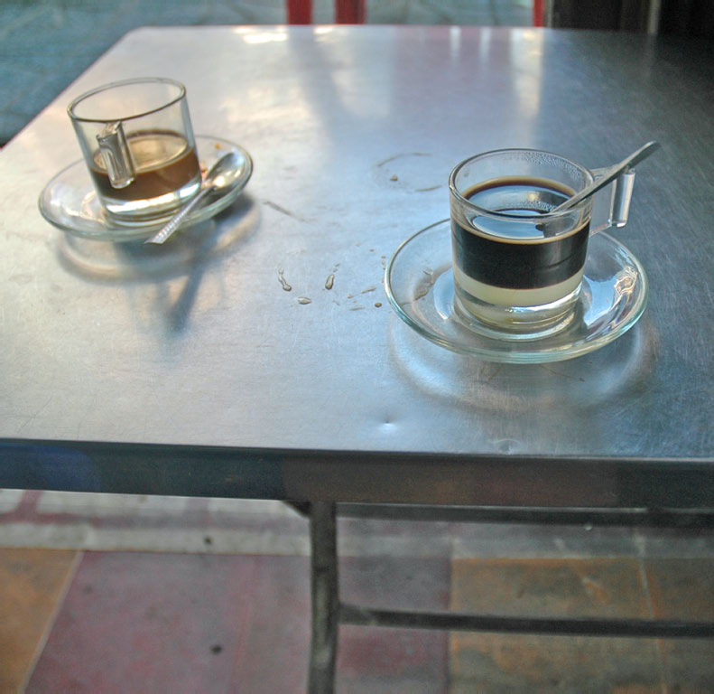 Ho Chi Minh City: coffee for two