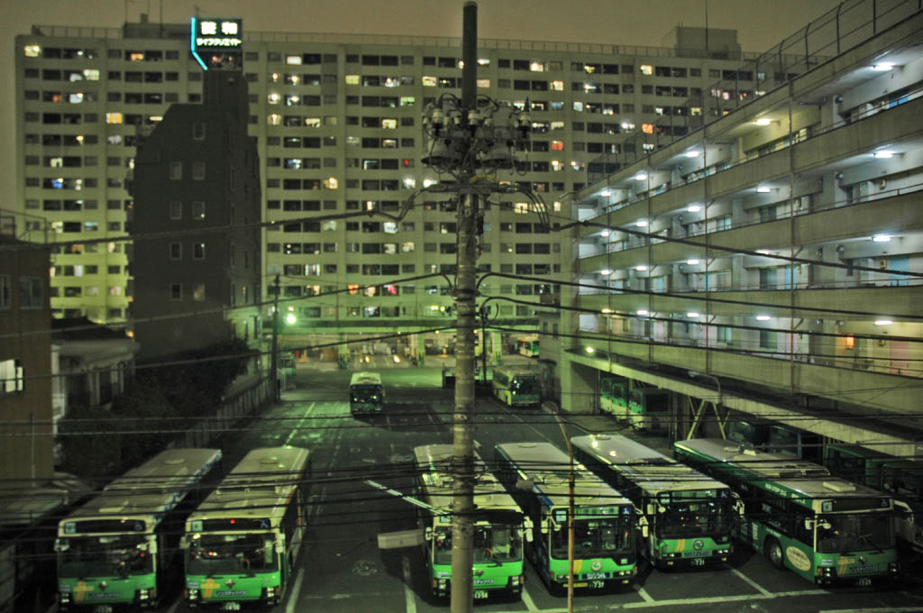 Tokyo: bus station and employee accommodation