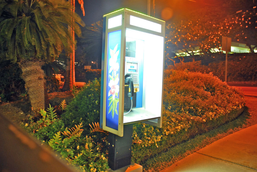 Hawaii: phone kiosk