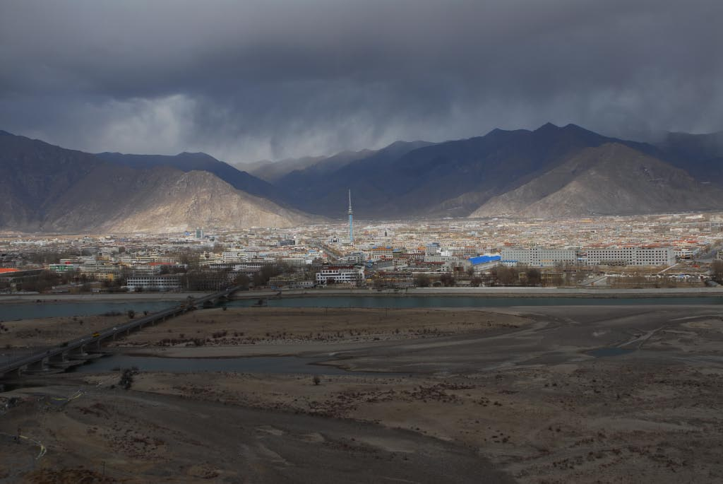 Lhasa: as seen from the outskirts