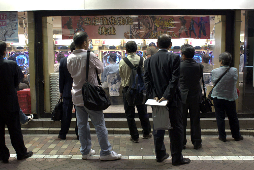 Tokyo: the crowd that lingers