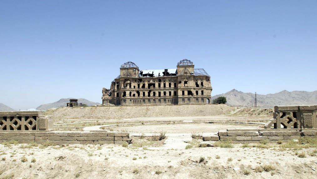 Kabul: a palace destroyed