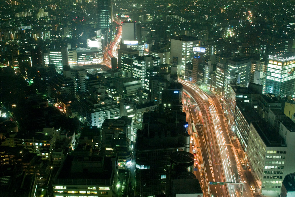 Tokyo: view of