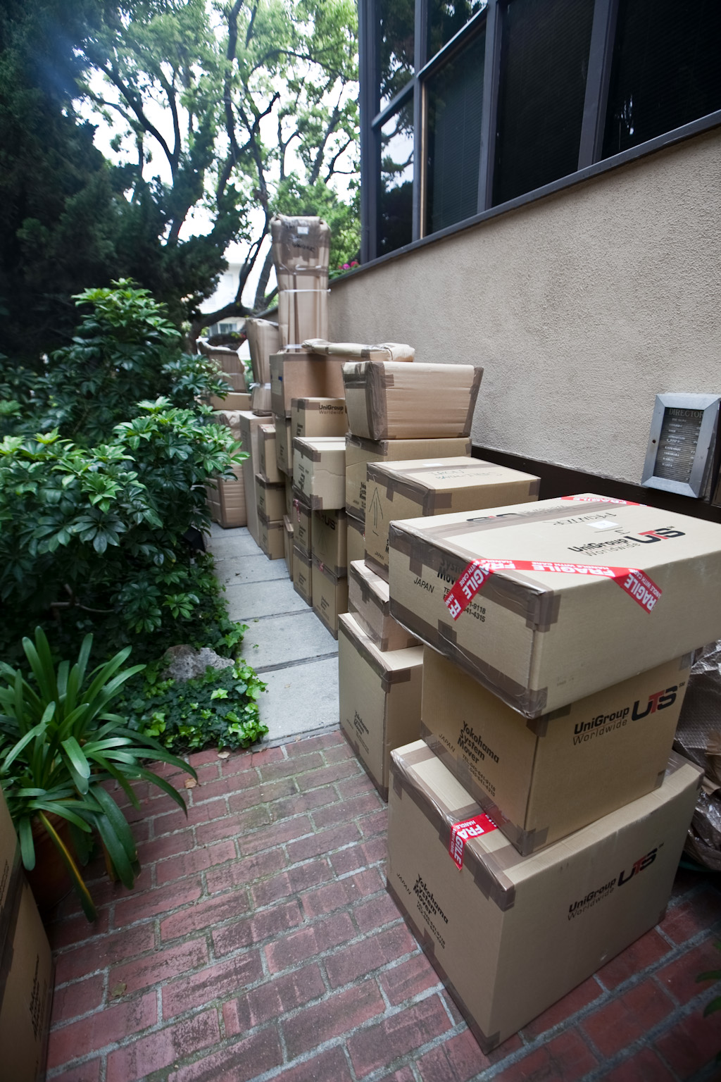Los Angeles: moving day