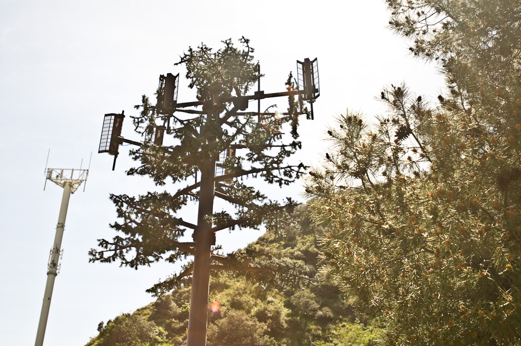 Los Angeles: mobile phone cell tower