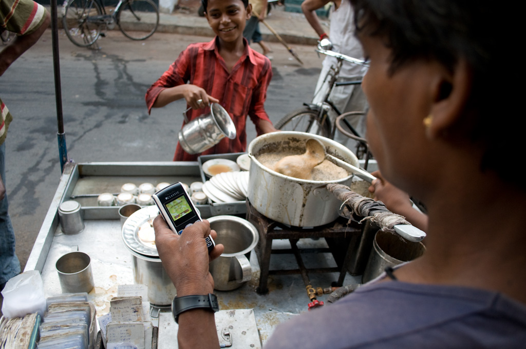 Ahmedabad: chai delivery