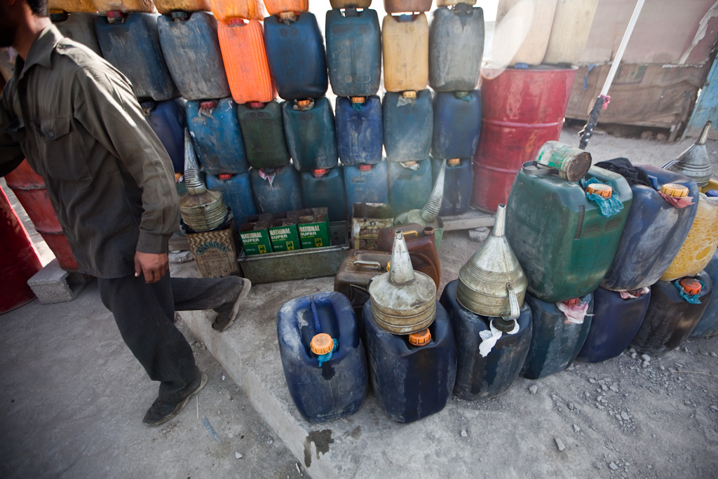 Kabul: petrol colours