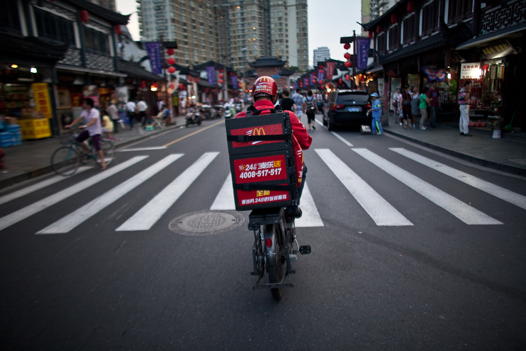 Shanghai: home delivery