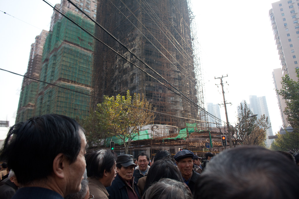 Shanghai: the grieving process