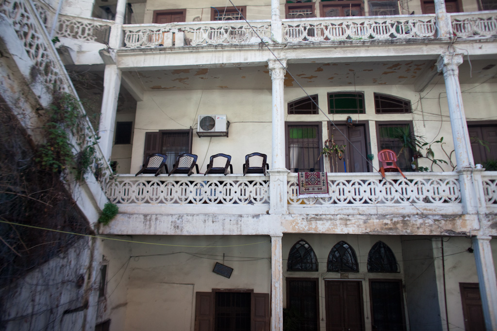 Beirut: chair hanging norms