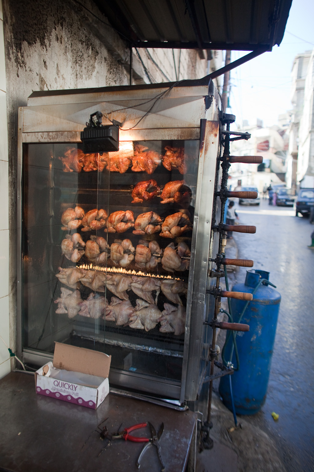 Beirut: roast chicken
