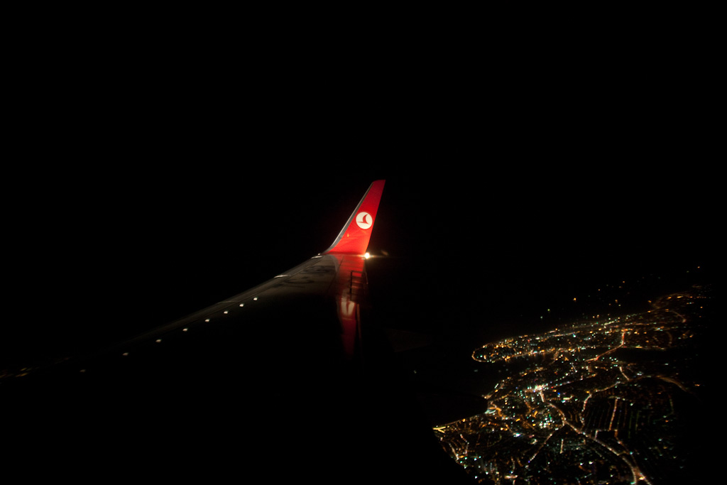 Istanbul: plane over