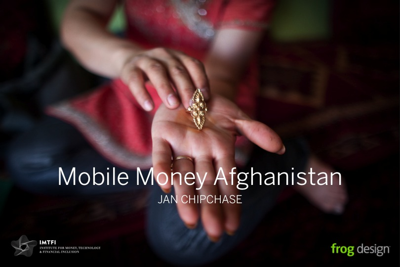Presentation: Mobile Money Afghanistan