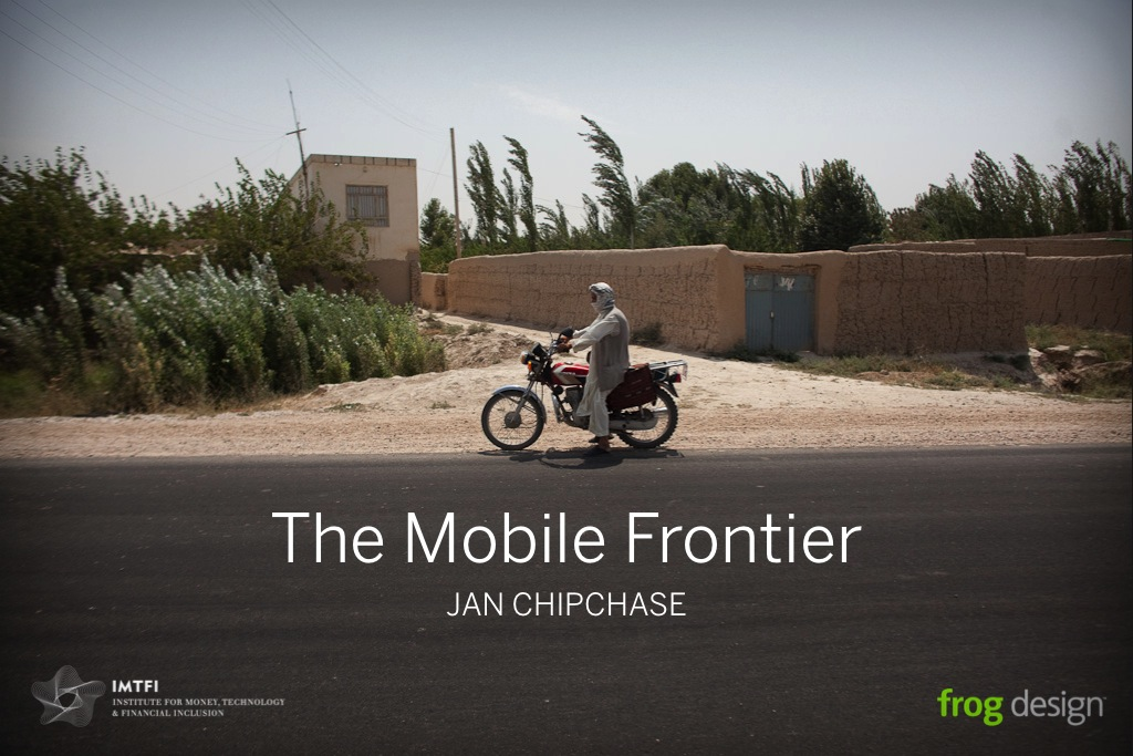 Presentation: The Mobile Frontier