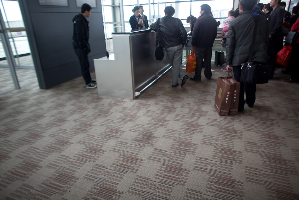 Shanghai: queueing norms