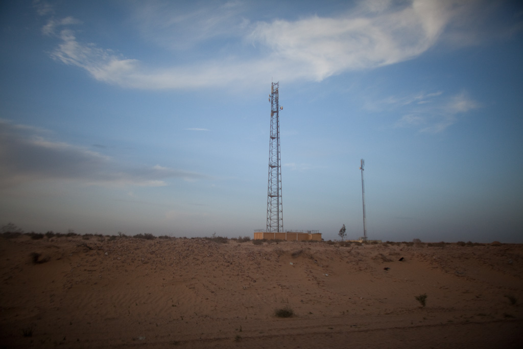 Zawyet el Hawale: radio tower