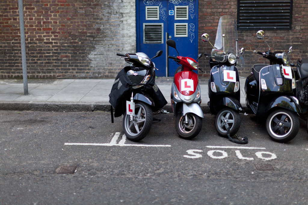 London: learner rides