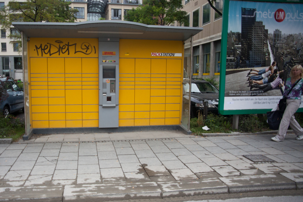 Munich: DHL parcel station