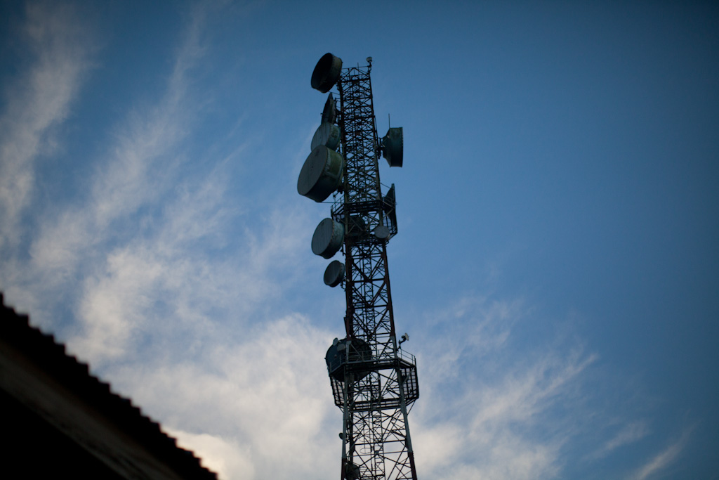 Ibadan: cell tower