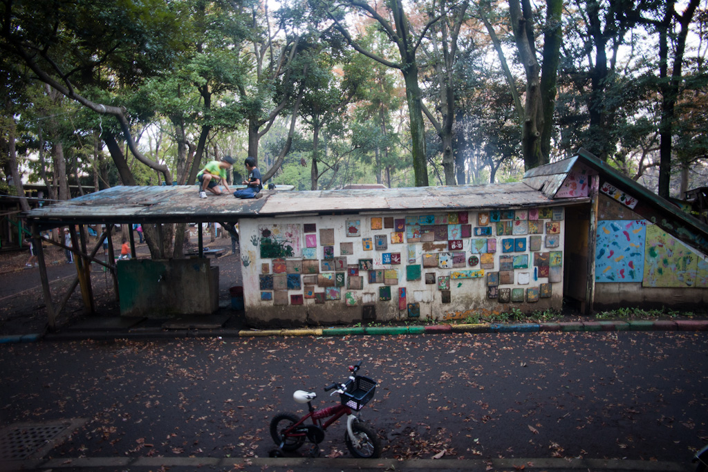 Tokyo: roofs for sitting on