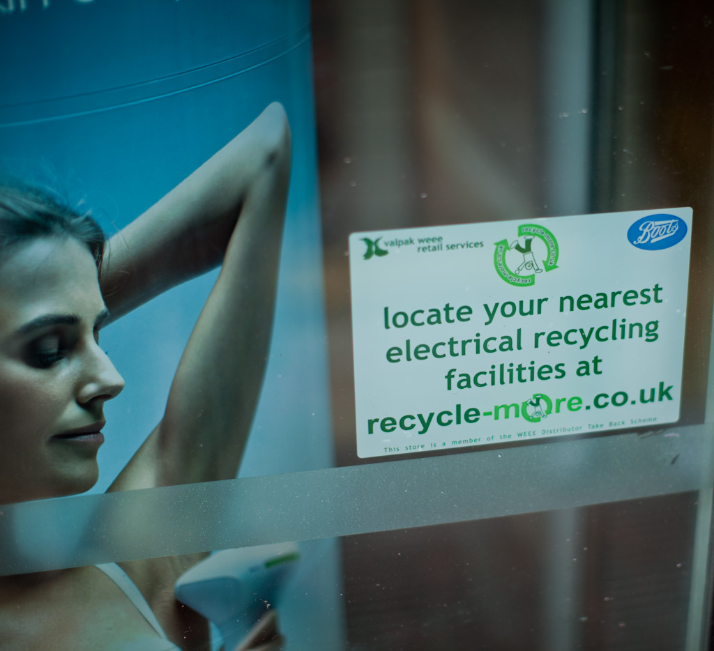Brighton: the scent of recycling