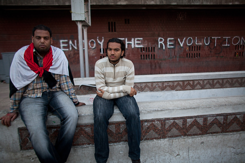 Cairo: enjoy the revolution