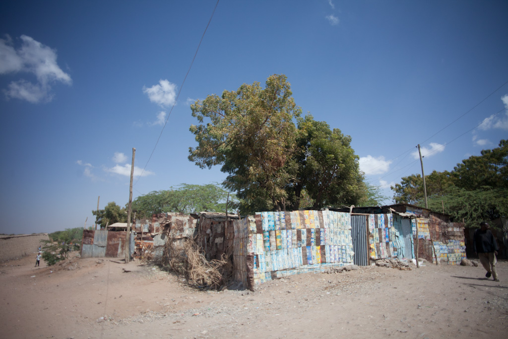 Dire Dawa: tin walls