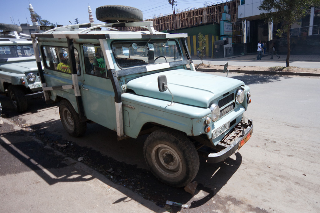 Addis Ababa: tow truck norms