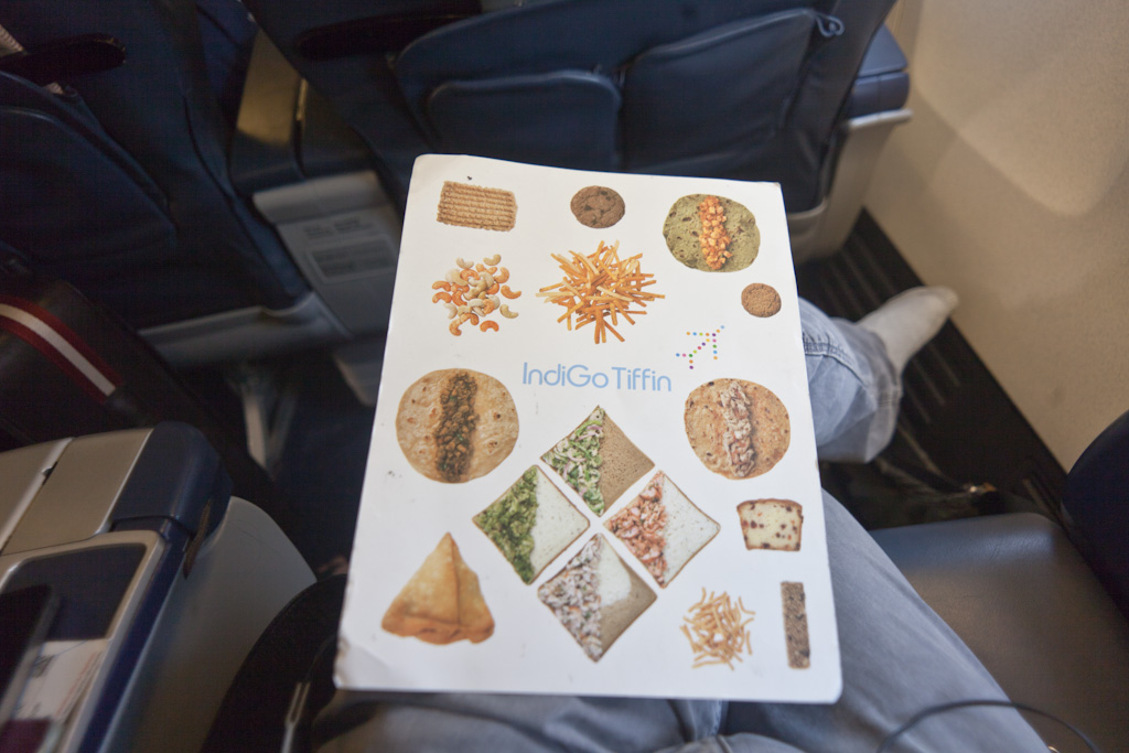 Bangalore: inflight tiffin