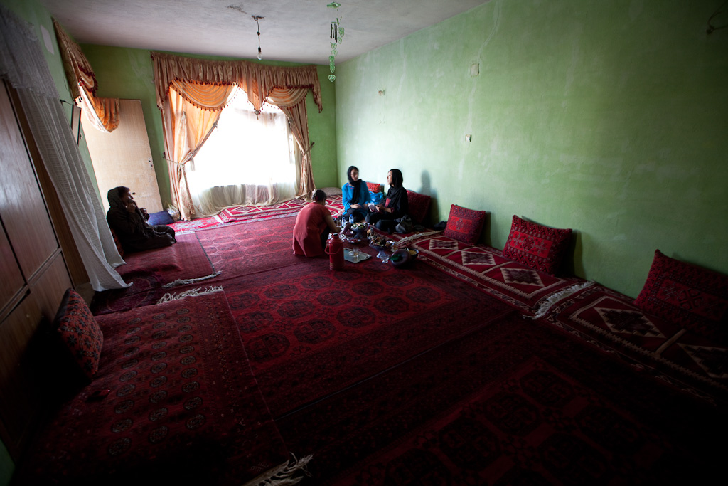 Kabul: home interviews