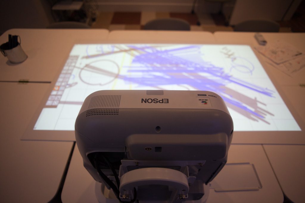 Tokyo: Epson Table Projector