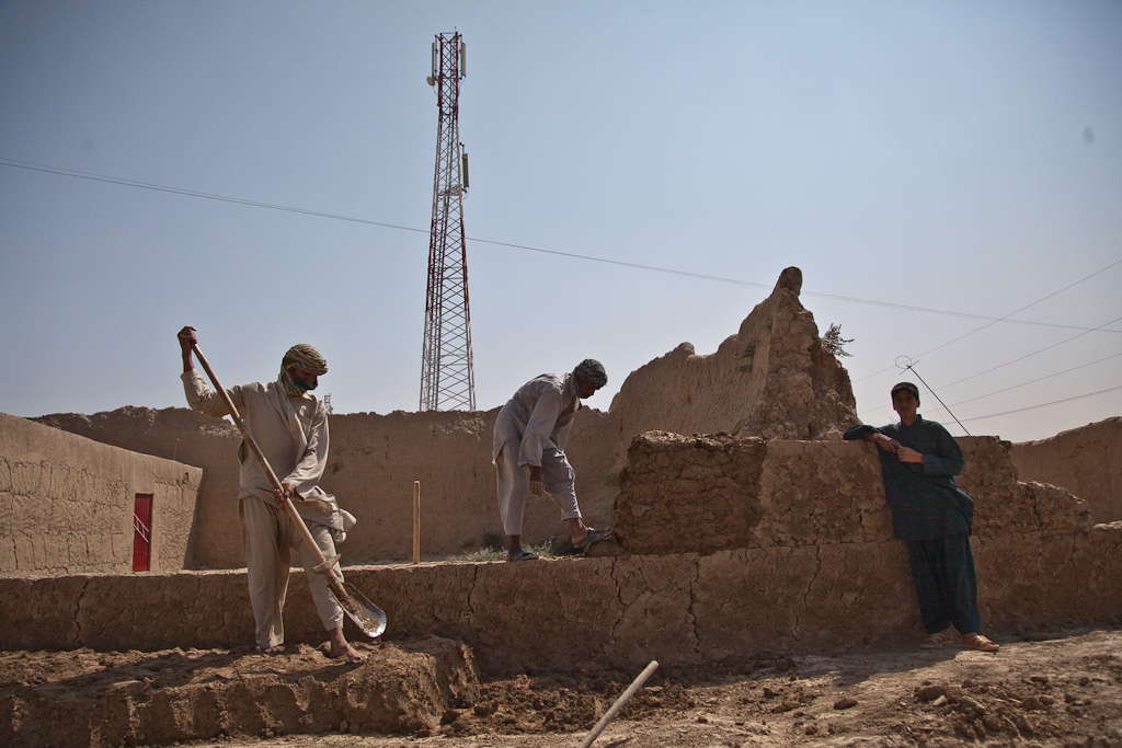 Afghanistan: Roshan cell tower