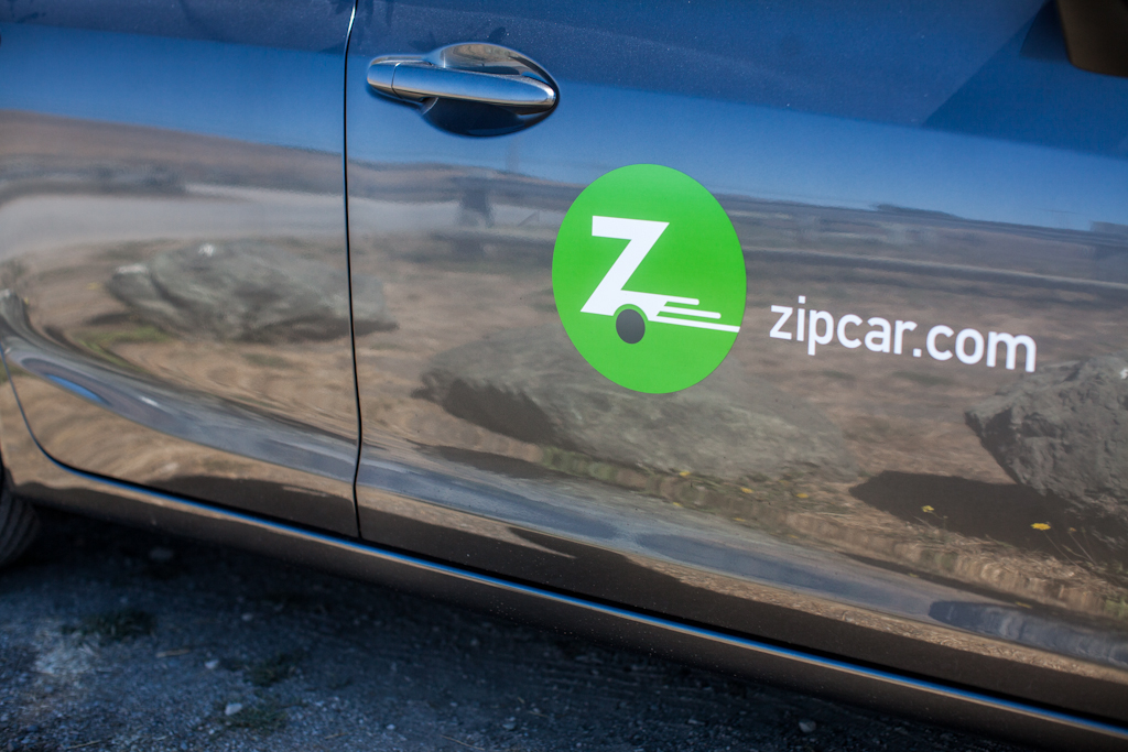 Point Reyes: zipcar