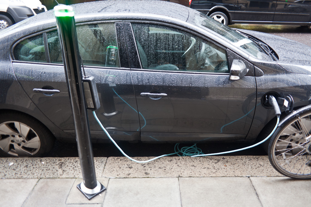 London: electric charging