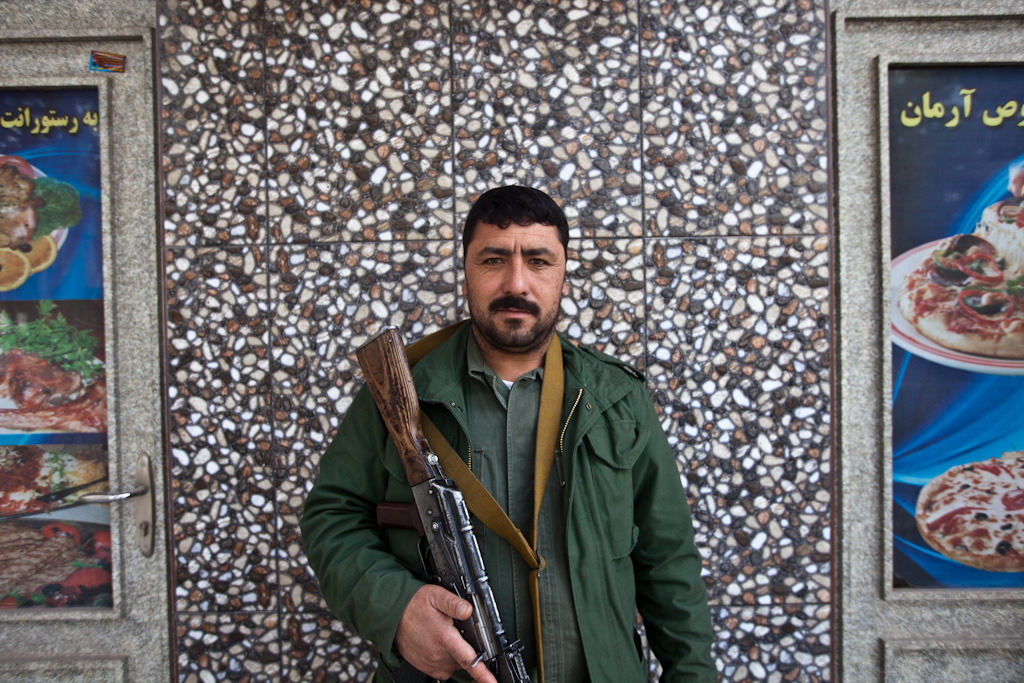 Herat: Restaurant Guard