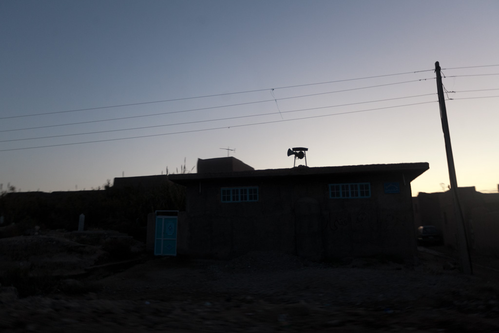 Herat: dawn prayers