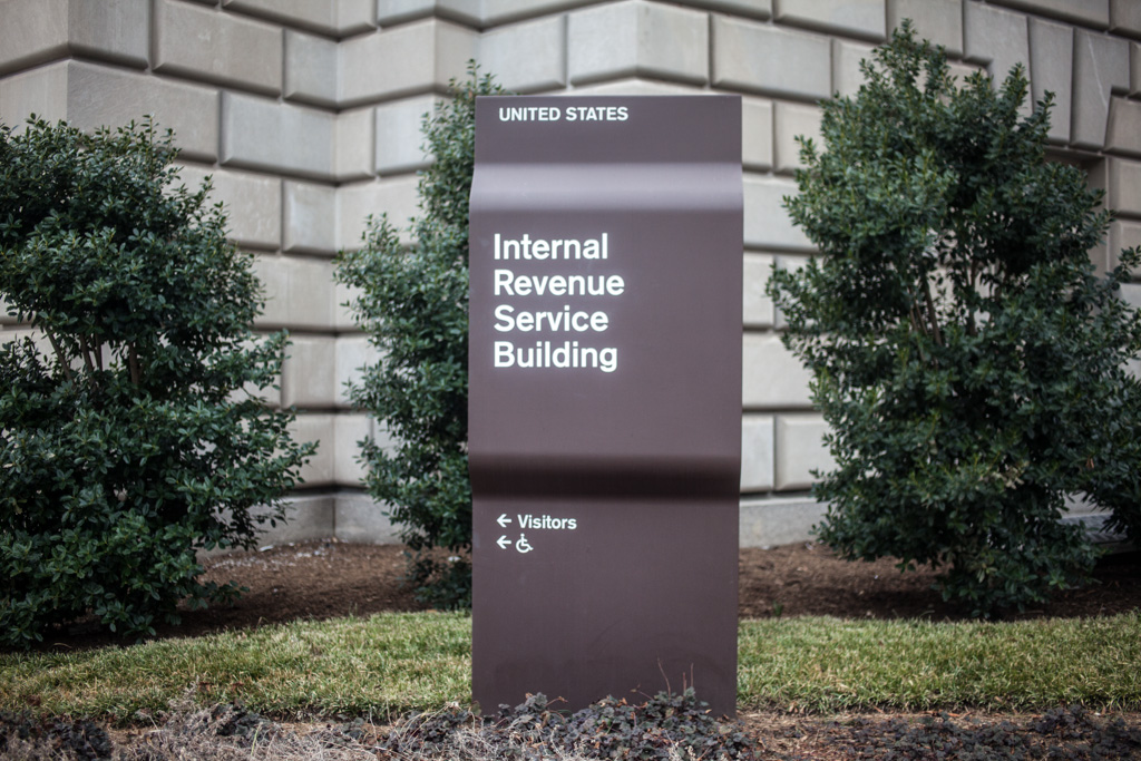 Washington DC: IRS