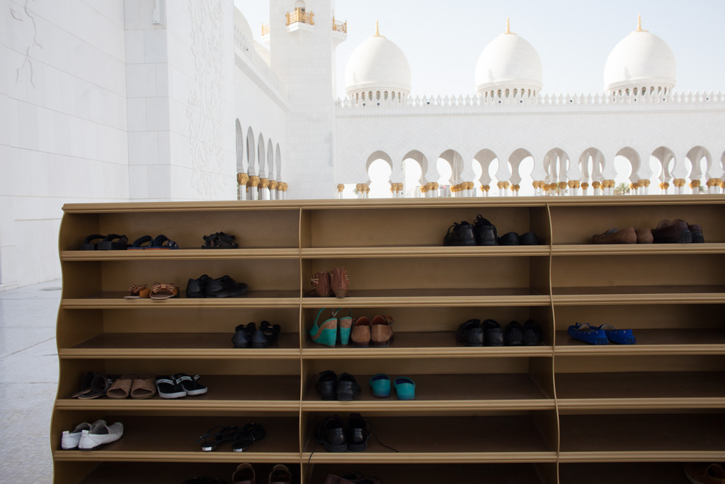 Abu Dhabi: grand shoes