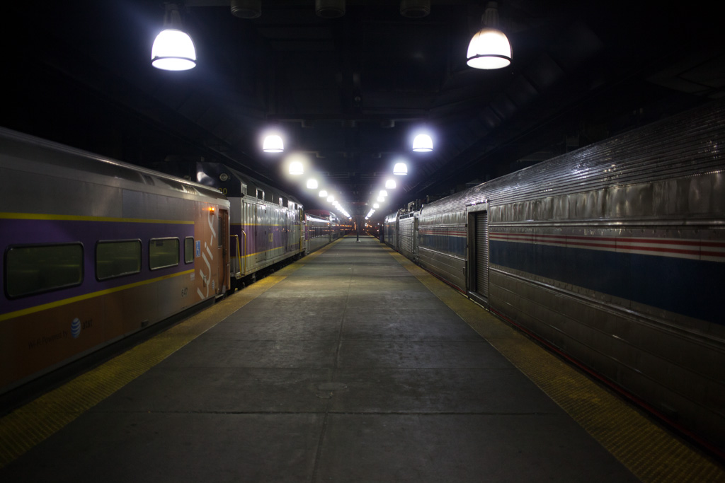Boston: train times