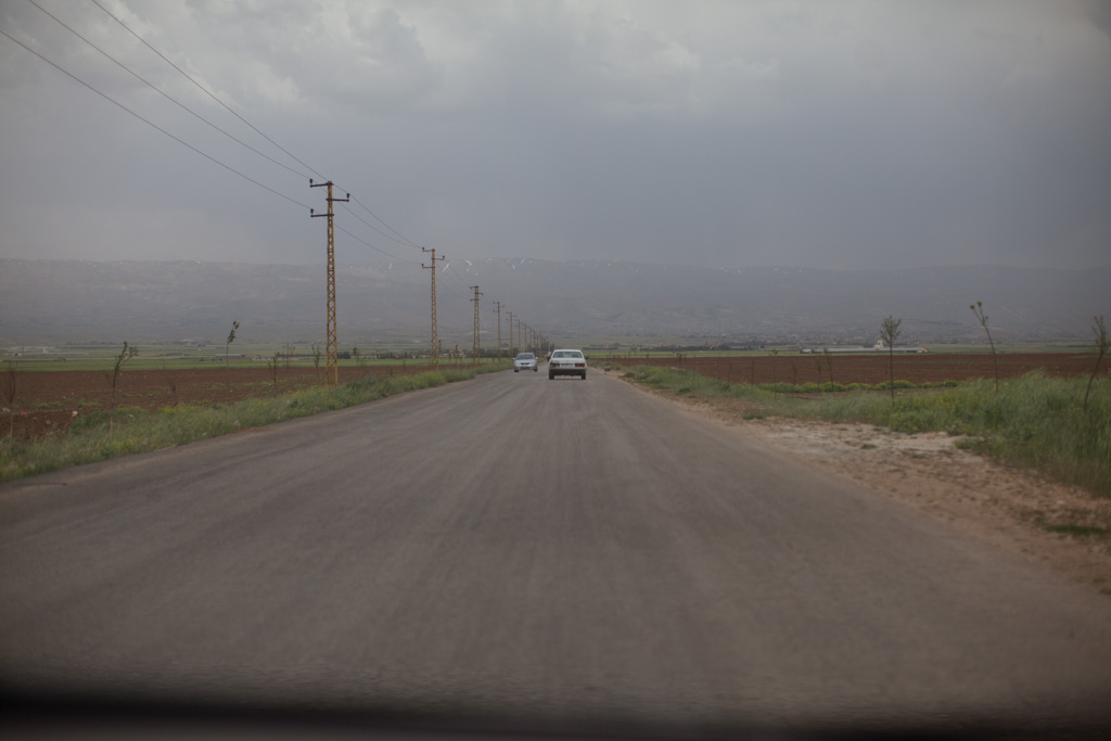 Beqaa Valley: open road