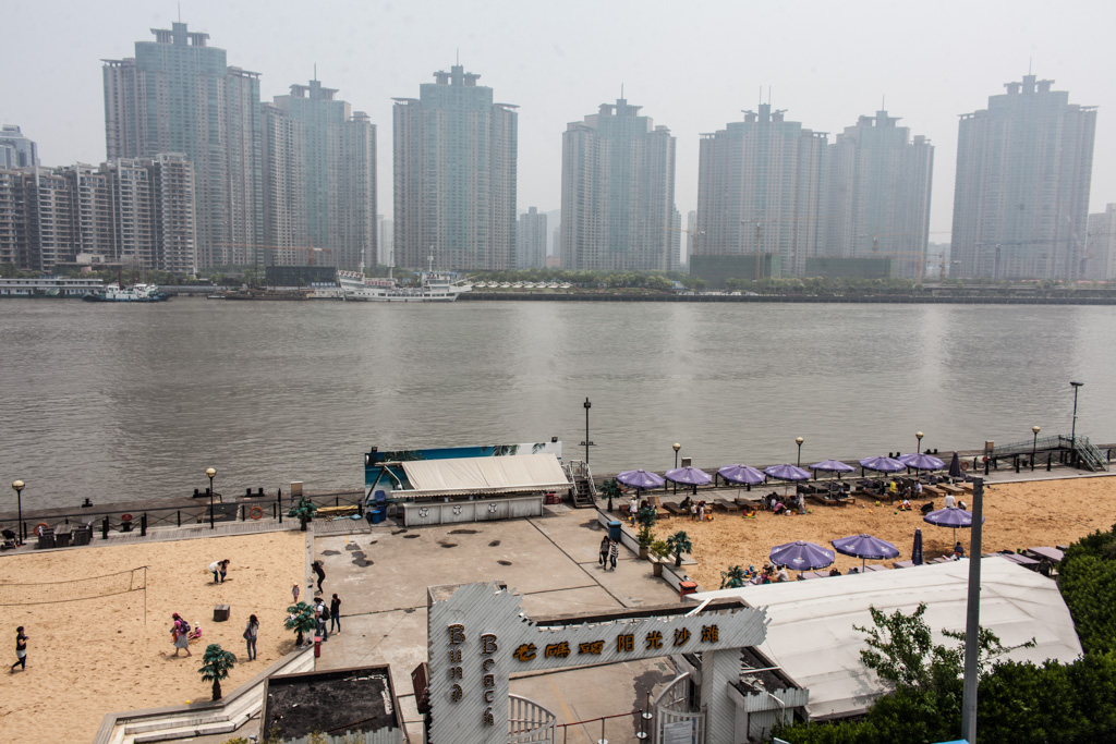 Shanghai: beachfront property