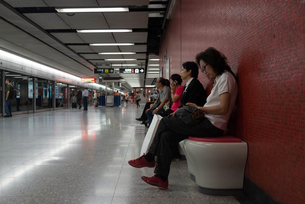 Hong Kong: how people wait