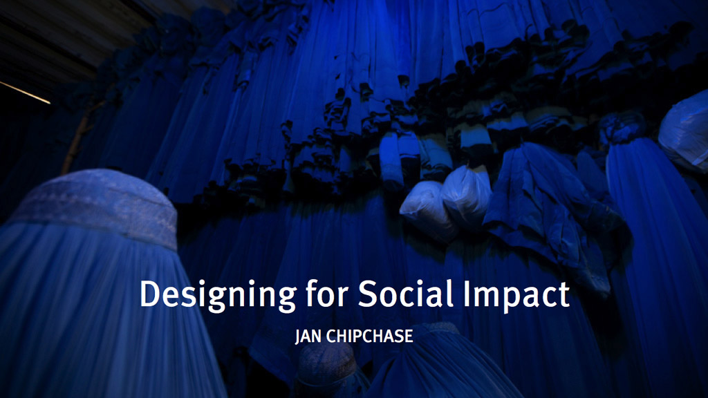 Presentation: Designing for Social Impact