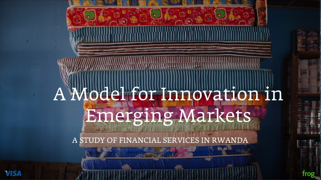 Presentation: Model for Innovation in Emerging Markets